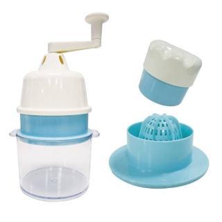 【剉冰達人】便利免電果菜機刨冰機榨汁機(涼夏透清涼組)