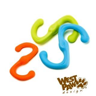 【美國West Paw Design】耐咬玩具S型-8吋(3色)