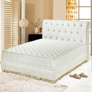 【睡芝寶】正三線乳膠-3M防潑水蜂巢獨立筒床墊(雙人5尺)