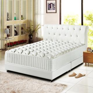 【睡芝寶】最高等級硬式-乳膠獨立筒床墊(雙人加大6尺)