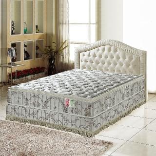 【睡芝寶】正三線智慧涼感-乳膠抗菌蜂巢獨立筒床墊(雙人加大6尺)