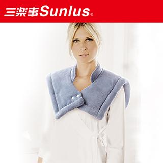 【SUNLUS】三樂事暖暖頸肩雙用熱敷柔毛墊(可水洗 MHP1富邦momo台電話010)