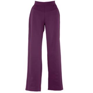 【JORDON 橋登】女款保暖彈性透氣休閒褲(P536 紫色)