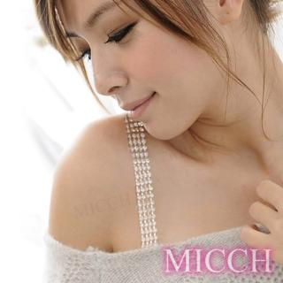 【MICCH】PARTY QUEEN璀璨四排閃耀捷克鑽石肩帶