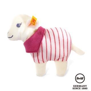 【STEIFF德國金耳釦泰迪熊】Leni Lamb Rattle 小羊(嬰幼兒手搖鈴)