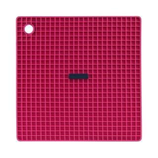 【Siliconezone】施理康耐熱兩用防燙墊&防燙鍋墊(桃紅色)