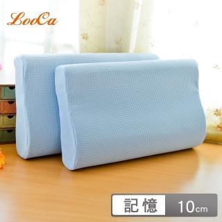 【買一送一】LooCa日本大和防蹣抗菌工學記憶枕
