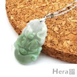 Hera頂級A貨翡翠項鍊-生肖鼠