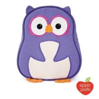 【美國 Apple Park】兒童造型背包 - 紫色貓頭鷹