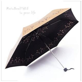 【私心大推】MOMO購物網【RainBow】超輕量!花序-高防曬晴雨傘(共四色)開箱富邦購物 momo