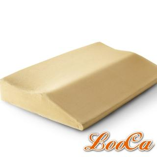 【LooCa】類麂皮護肩寶背記憶枕(1入)