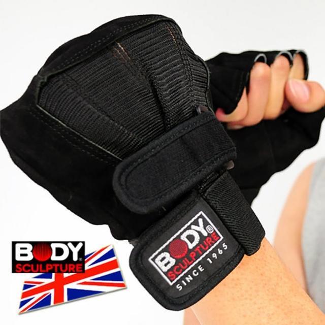 【BODY SCULPTURE】BWm0m0購物台-86 絨面皮革健身手套(C016-86)
