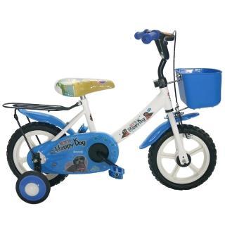 【好物分享】MOMO購物網【Adagio】12吋酷樂狗輔助輪童車附置物籃(藍色)價錢momo網頁