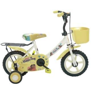 【好物推薦】MOMO購物網【Adagio】12吋酷樂狗輔助輪童車附置物籃(米色)哪裡買momo旅遊台