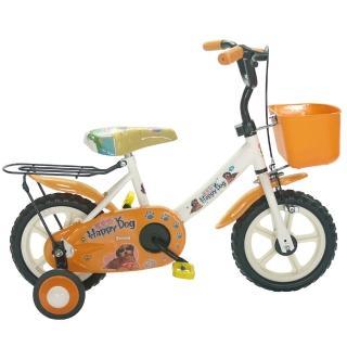 【開箱心得分享】MOMO購物網【Adagio】12吋酷樂狗輔助輪童車附置物籃(橘色)去哪買momo 台灣