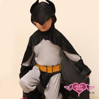 【天使霓裳】正義又帥氣的蝙蝠俠萬聖節童裝系列(灰)