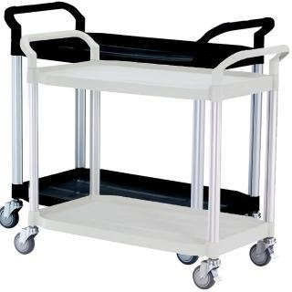 【COLOR】豪華大型2層工具/餐推車(高級儀器輪)