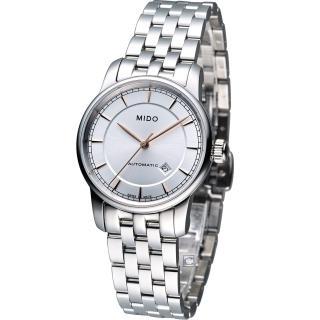 【MIDO 美度】Baroncelli 永恆系列簡約機械錶(M76004101)