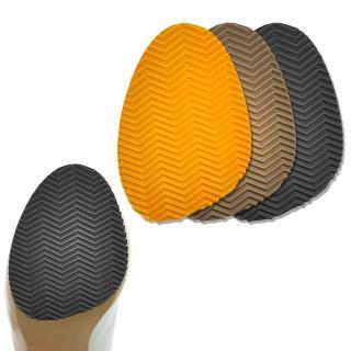 【足的美形】台灣製加厚3mm鞋底防滑貼 黑(3雙)