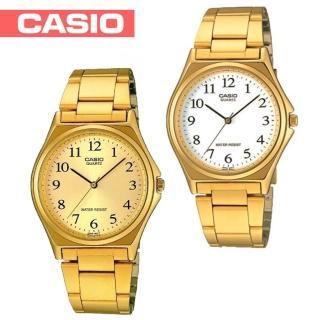 【CASIO 卡西歐】氣質燦金數字型指針女錶(LTP-1130N)