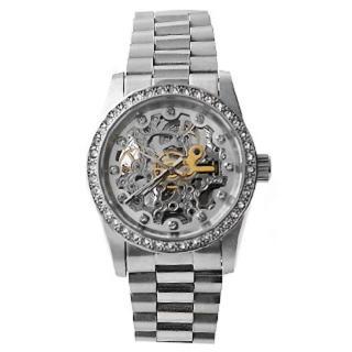 【Valentino范倫鐵諾】自動上鍊機械腕錶 工藝雙面鏤雕(玖飾時尚NE976)