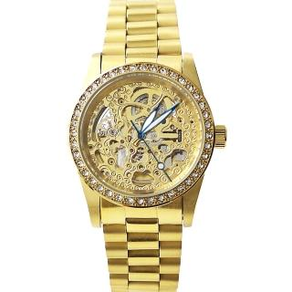【范倫鐵諾˙古柏】工藝雙面鏤雕自動上鍊機械腕錶 父親節禮物