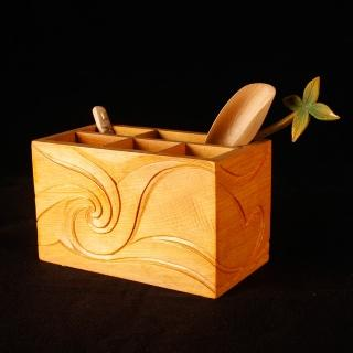 【MU LIFE 荒木雕塑藝品】海天雲舞收納盒