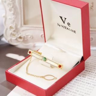 【Ve vitalise】經典時尚領帶夾(金色)