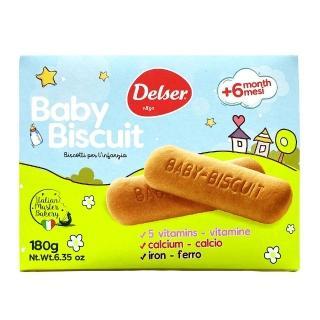 【帝舍】義大利帝舍嬰兒牛奶餅180g