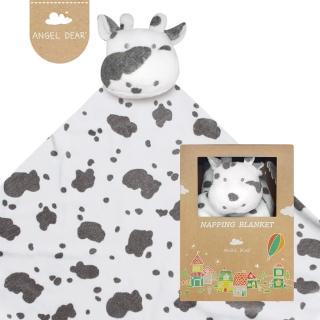 【美國 Angel Dear】大頭動物嬰兒毛毯(小乳牛)