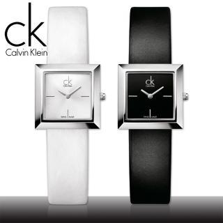 【瑞士 CK手錶 Calvin Klein】送禮首選-方型氣質淑女錶(K3R231C1-K3R231L6)