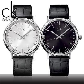【瑞士 CK手錶 Calvin Klein】送禮首選-品味優雅紳士錶(K3W211C1-K3W211C6)