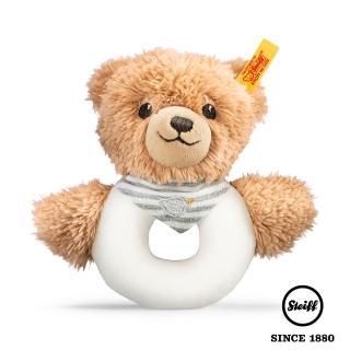 【STEIFF德國金耳釦泰迪熊】Sleep Well Bear(嬰幼兒手搖鈴)