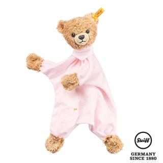 【STEIFF德國金耳釦泰迪熊】Sleep Well Bear(嬰幼兒安撫巾)