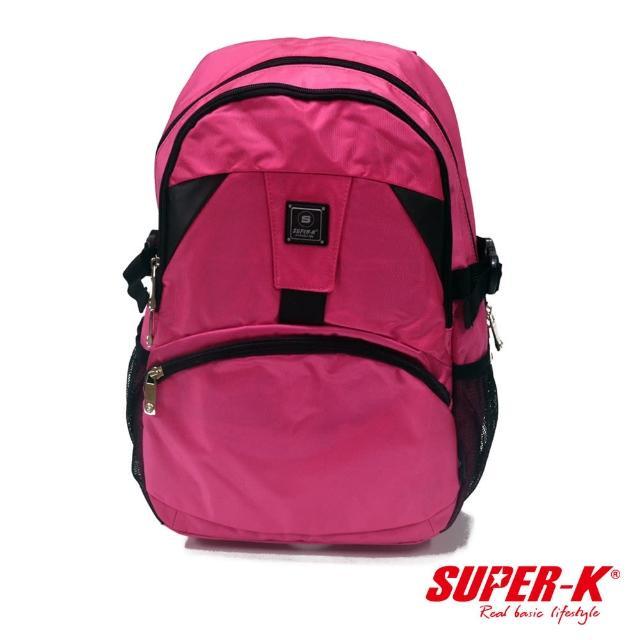 【私心大推】MOMO購物網【酷博士】SUPER-K休閒後背包-SHB21631(玫紅色)效果momo購物往