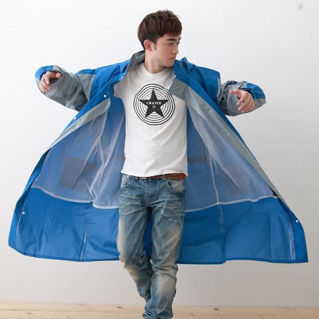 【好物分享】MOMO購物網【OutPerform】勁馳率性連身式風雨衣(藍/淺灰)有效嗎momo富邦購物台