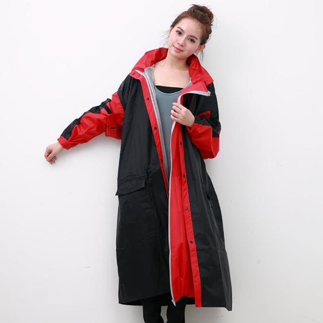 【勸敗】MOMO購物網【OutPerform】勁馳率性連身式風雨衣(黑/紅)有效嗎momo富邦購物網