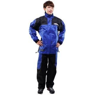 【網購】MOMO購物網天龍牌 新重裝上陣F1機車型風雨衣- 藍色+通用鞋套價錢momo拍賣網