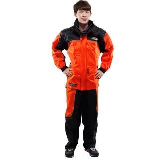 【私心大推】MOMO購物網天龍牌 新重裝上陣F1機車型風雨衣- 橘色哪裡買momo購網