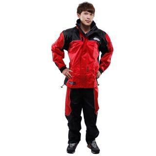 【網購】MOMO購物網天龍牌 新重裝上陣F1機車型風雨衣- 紅色 +通用鞋套好用嗎富邦momo電視購物頻道