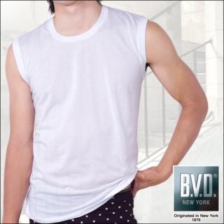 【BVD】100% 純棉無袖背心內衣(5件組)