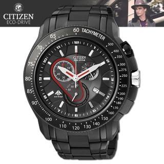 【CITIZEN 星辰】光動能半金時尚腕錶(AW1084-51A)