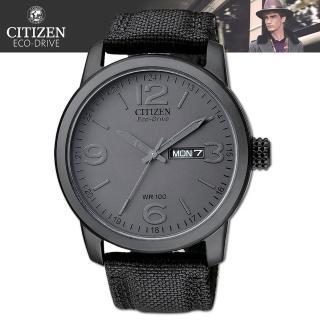 【CITIZEN 星辰】光動能軍用時尚精品腕錶(BM8475-00F)