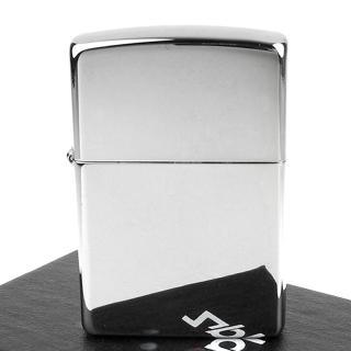 【ZIPPO】美系-拋光鍍鉻鏡面打火機(寬版)
