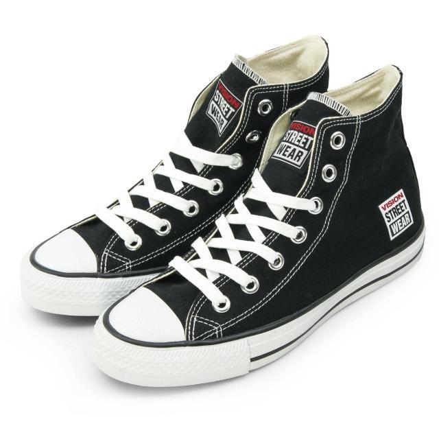 【好物分享】MOMO購物網【VISION STREET WEAR】女 經典帆布鞋(黑 V22001)開箱momo粉絲團