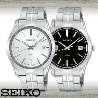 【SEIKO 精工】藍寶石水晶紳士腕錶(SGEE41P1_SGEE43P1)
