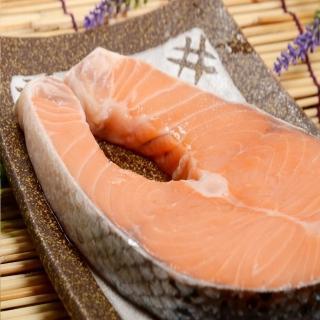【華得水產】挪威特大鮭魚片5件組(370g/片)