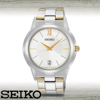 【SEIKO 精工】藍寶石水晶時尚紳士腕錶(SGEF45P1)