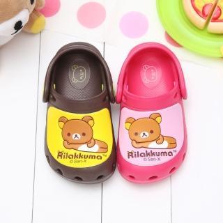 【童鞋城堡】拉拉熊懶懶熊超輕布希花園鞋(KM2629)