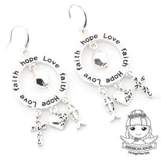 【A&Angel】希望之愛多墜刻字耳環